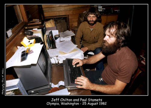 Jeff Chlton and Paul Stamets