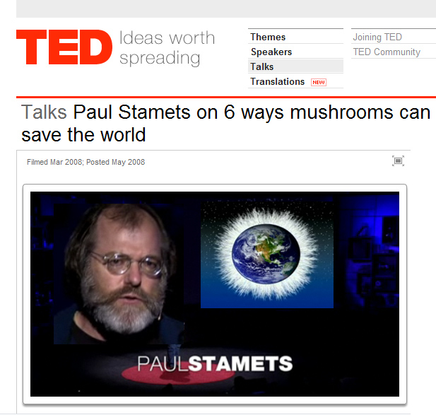 Paul Stamets on TED