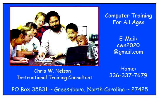 Chris W. Nelson - Instrctional Training Consultant